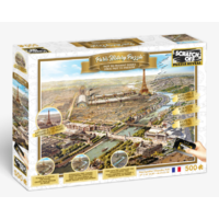 Scratch Off Paris Jigsaw Puzzle 500 Pieces