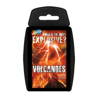 Top Trumps - Which is the most explosive volcanoes?