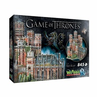 Wrebbit Game of Thrones Redkeep 3D Puzzle