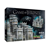 Wrebbit Game of Thrones Winterfell 3D Jigsaw Puzzle - 910Piece