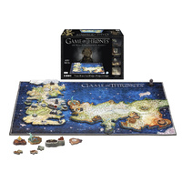Game of Thrones 4D Westeros & Essos 4D Puzzle