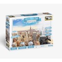 Scratch Off Seasons New York Jigsaw Puzzle