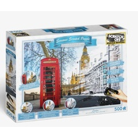 Scratch Off Seasons London Big Ben Jigsaw Puzzle