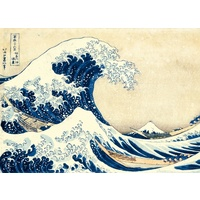 Clementoni Hokusai The Great Wave Jigsaw 1000 Pieces