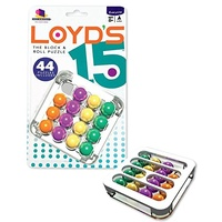 Loyd's 15 The Block & Roll Puzzle