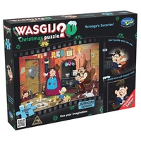 Wasgij Christmas 1 puzzle Scrooge's Surprise! 1000 Pieces