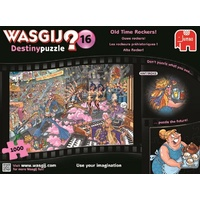 Wasgij 16 Destiny puzzle Old Time Rockers! 1000 Pieces