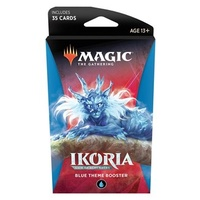 Magic The Gathering MTG Ikoria Lair Of Behemoths Theme Booster - Blue
