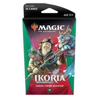 Magic The Gathering MTG Ikoria Lair Of Behemoths Theme Booster - Green