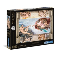 Clementoni Michelangelo The Creation of man 1000 Piece Jigsaw Puzzle