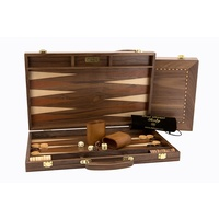 Dal Rossi Backgammon Walnut 18""