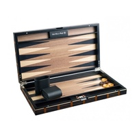 Dal Rossi Luxury Mosaic Wood Veneer Backgammon 18""