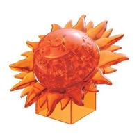 3D Crystal Puzzle - Sun - Orange