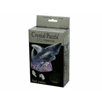 3D Crystal Puzzle - Black Shark