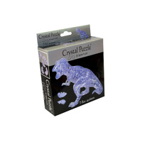 3D Crystal Puzzle - Clear T-Rex