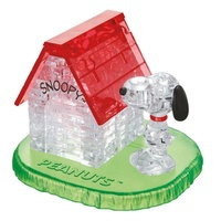 3D Crystal Puzzle - Snoopy with House