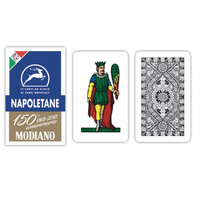 Italian Regional Napoletane Playing Cards 150th Anniversary Edition - Blue
