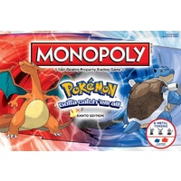Monopoly: Pokemon - Kanto Edition