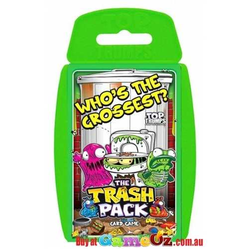 Top Trumps The Trash Pack - Who's the Grossest?