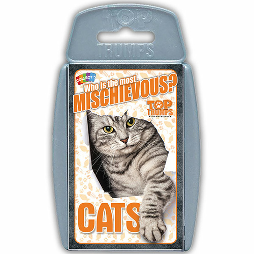 Top Trumps Cats - Who is the most mischievous?