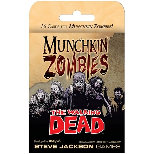 Munchkin Zombies: The Walking Dead