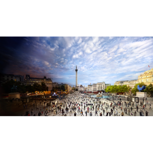 Stephen Wilkes Day To Night Trafalger Square Jigsaw Puzzle (1000)