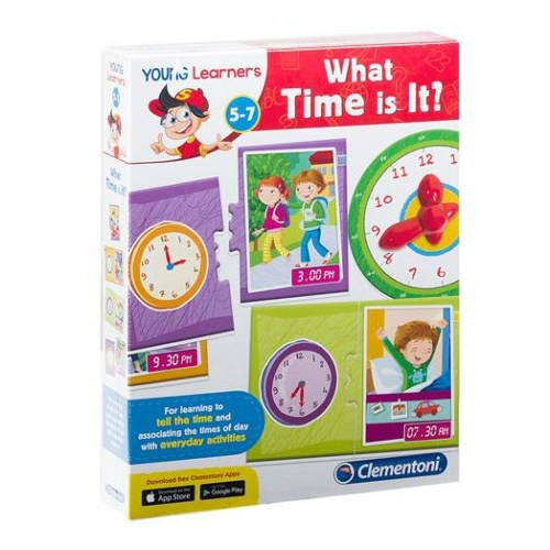 Clementoni Young Learners, What time is it?