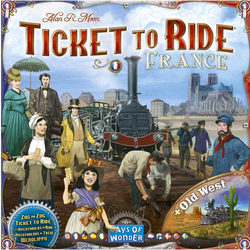 Ticket to Ride: France & Old West