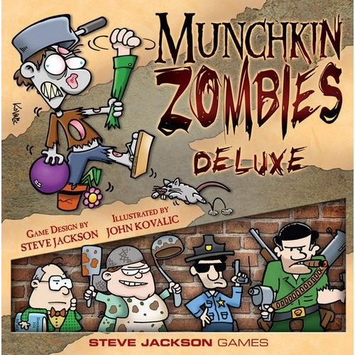 Munchkin Zombies - Deluxe Edition
