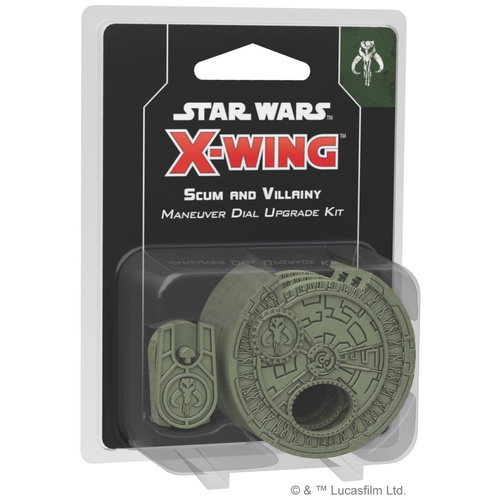 Star Wars X-Wing Miniatures Game Scum and Villainy Maneuver Dial Upgrade Kit 2nd Edition