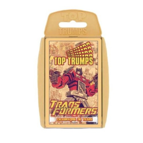Top Trumps - Transformers Celebrating 30 Years