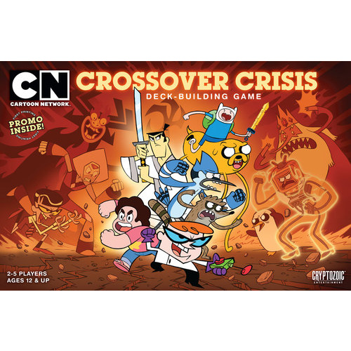 Cartoon Network Crossover Crisis Deck Building Game