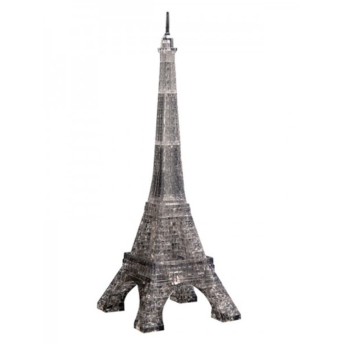 3D Crystal Puzzle - Eiffel Tower - Black