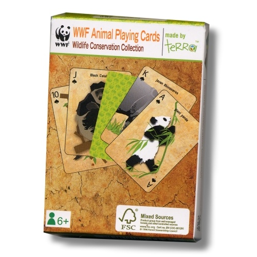WWF - Animal Playing Cards